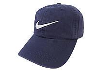 Темно-синия бейсболка Nike