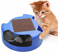 Игрушка Для Кошек Cat And Mouse Chase Toy Когтеточка, фото 1