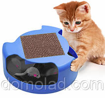 Игрушка Для Кошек Cat And Mouse Chase Toy Когтеточка