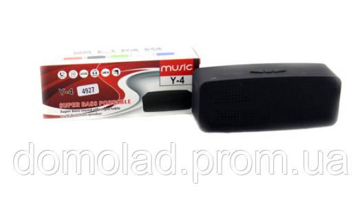 Портативная Колонка Bluetooth SPS Y4 BT