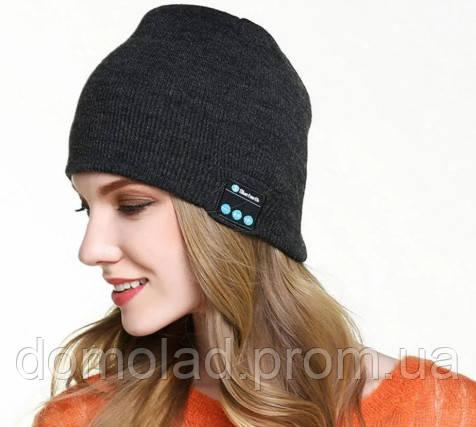 Портативна Колонка Шапка з Навушниками Bluetooth SPS Hat BT True