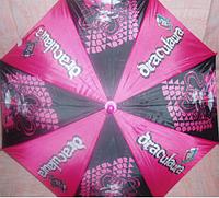 Зонт детский  Monster High  полуавтомат