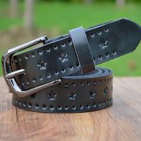 Женский кожаный ремень.Белый  Арт. 805, фото 3
