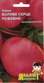 Семена томат Волове сердце 0.1г розовый (Малахiт Подiлля)