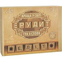 """Настольная игра для детей """"Ерудит"""" на украинском языке (Гра в слова) Arial 910220"""