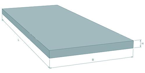 Плита перекрытия лотков и каналов железобетонных П 13д-11б (740 х 1480 х 120 мм)