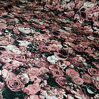 Футер Холодная роза - 185см. (диджитал)