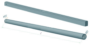 Опоры ЛЭП и освещения железобетонные СК 105-10