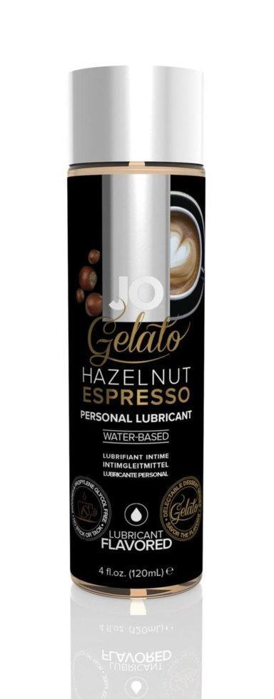 Лубрикант на водной основе System JO Gelato hazelnut espresso 120 мл