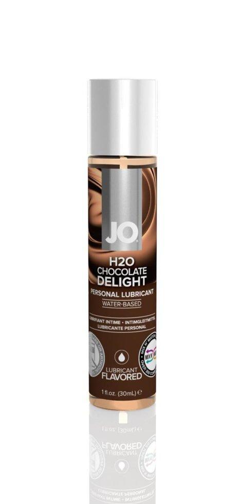 Лубрикант на водной основе System JO H2O - CHOCOLATE DELIGHT 30 мл