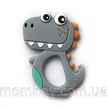 Динозавр новый (светло-серый)