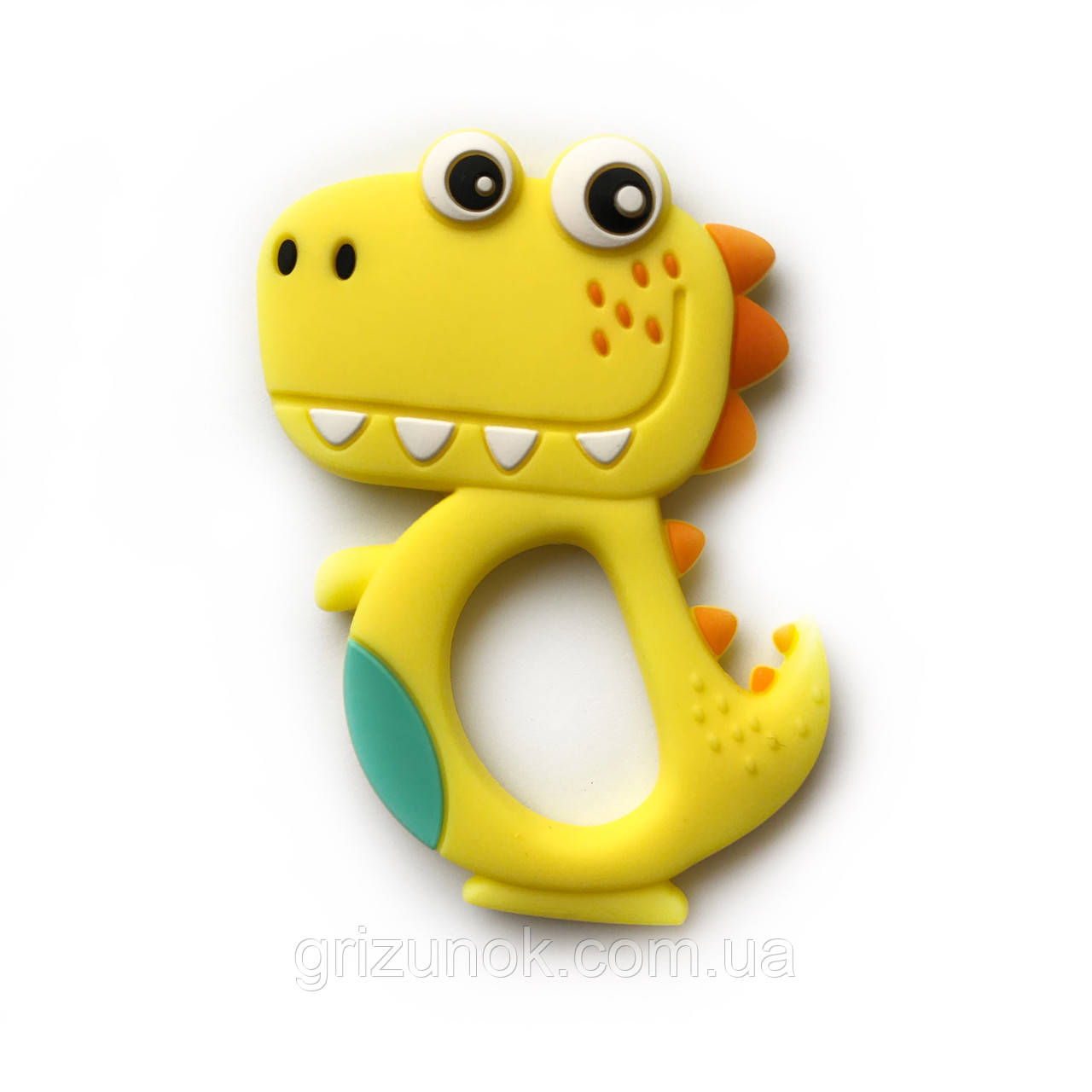 Динозавр новый (желтый)