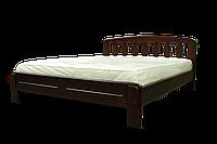 Деревянная кровать из массива Лилия 160*200