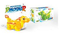 Музыкальная развивающая игрушка животное V77C Динозавр,батар,свет,звук,в коробке 21*17,4*11см