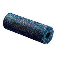 Массажный ролик, валик, роллер гладкий 4FIZJO Epp Pro 45 x 14.5 см 4FJ1141 Black-Blue SKL41-227489