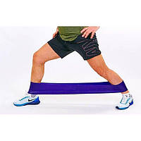Резинка для фитнеса и спорта (лента эспандер) эластичная 1040х150х0,65мм OSPORT PS (FI-2465)