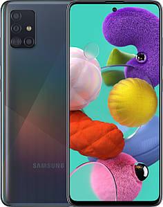 Сенсорный мобильный телефон Samsung A515F ZKU Black 64GB