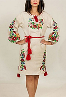 Вышитое платье Диана , фото 1