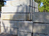 Фундаментный стеновой ЖБ блок ФБС 12-6-6т (1180 х 600 х 580 мм), фото 2