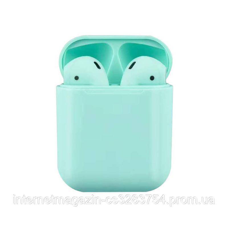 Сенсорные беспроводные Bluetooth наушники i18 TWS Original Blue (WH001I18Blue)