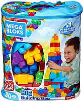 Классический конструктор Мега Блокс для мальчиков в мешке/сумке, Mega Bloks, мегаблокс (80 дет.) DCH63