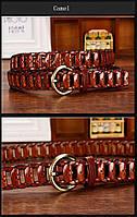 Женский кожаный ремень. Арт. 809, фото 4