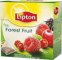 Чай Lipton Forest Fruit (черный с фруктами в пирамидках) 20х1,8 г.
