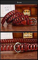 Женский кожаный ремень. Арт. 809, фото 5