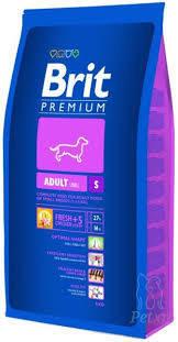 BRIT Premium «Adult S»8 кг.Корм для взрослых собак маленьких пород.