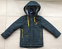 Детская весенняя , демисезонная куртка - ветровка на мальчика модная, красивая р- 3,4,5,6,7 лет.