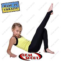Лосины со следом для художественной гимнастики и танцев. Хлопок