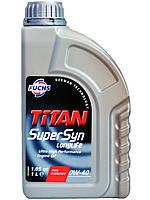Моторное масло FUCHS TITAN Supersyn LONGLIFE 0W-40 1л