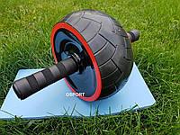 Тренажер Ролик (колесо) для мышц пресса Profi (MS 2210)