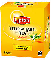 Чай Lipton Yellow Label (в пакетиках) 100х2 г.