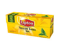 Чай Lipton Yellow Label (в пакетиках) 25х2 г.