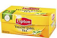 Чай Lipton Yellow Label (в пакетиках) 50х2 г.
