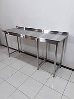 Стол производственный из нержавеющей стали 1900х600х1000, фото 1