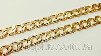 Цепь декоративная для сумок 22*15 мм золото