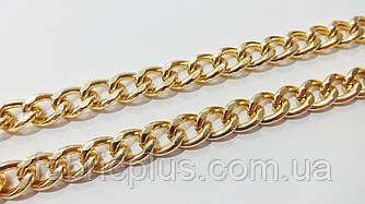Цепь декоративная для сумок 15*10 мм золото