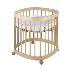 Кроватка 7в1 Tweeto бук натуральный