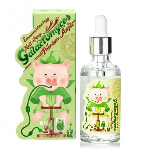 Сироватка для обличчя галактомісіс 97% Elizavecca Witch Piggy Hell-Pore Galactomyces Premium Ample