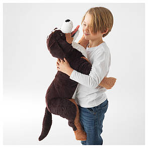 ХОППИГ Мягкая игрушка, собака, 60441213, ИКЕА, IKEA, HOPPIG, фото 2