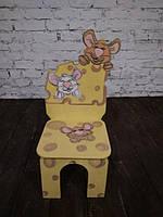 Стул детский Мышки в сире (396)