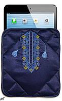 """Чехол для планшета """"Вышиванка синяя"""""""