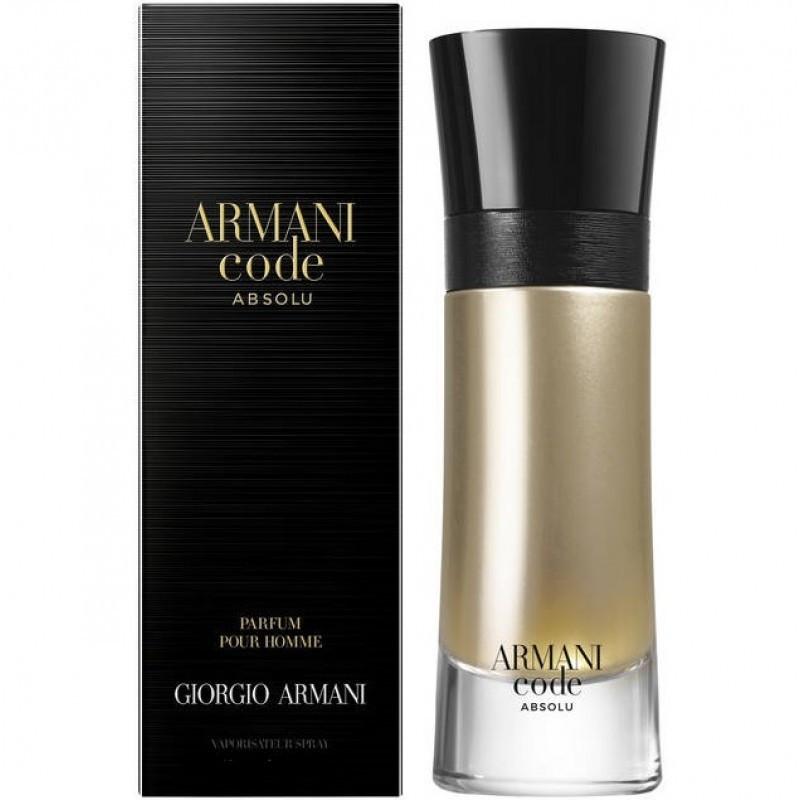 Парфюмерная вода мужская Giorgio Armani Code Absolu, 110 мл МЯТАЯ УПАКОВКА