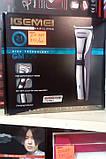 Беспроводная Машинка- триммер для стрижки волос Gemei GM-829, фото 4