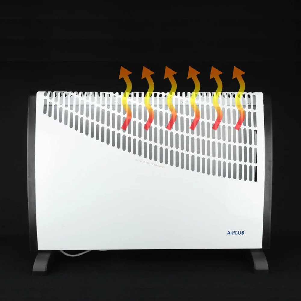 Конвектор А-Плюс 1987, обогреватель 2000Ват, 3 режима ( 750/1250/2000 Вт ) до 22 м²