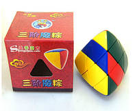 Пирамида треугольная округлая - по типу кубика Рубика SKU0000198