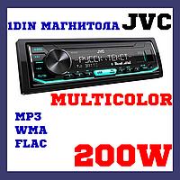 Магнитола со съемной панелью с изменяемой подсветкой JVC KD-X165, фото 1