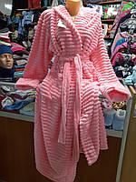 Махровый халат длинный р.42 - 54